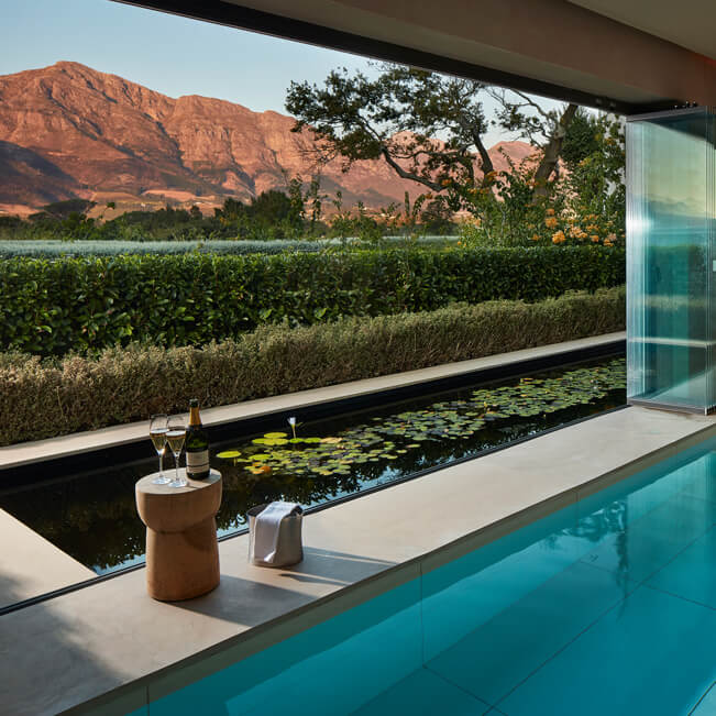 Leeu Estates - Leeu Spa – Plunge pool