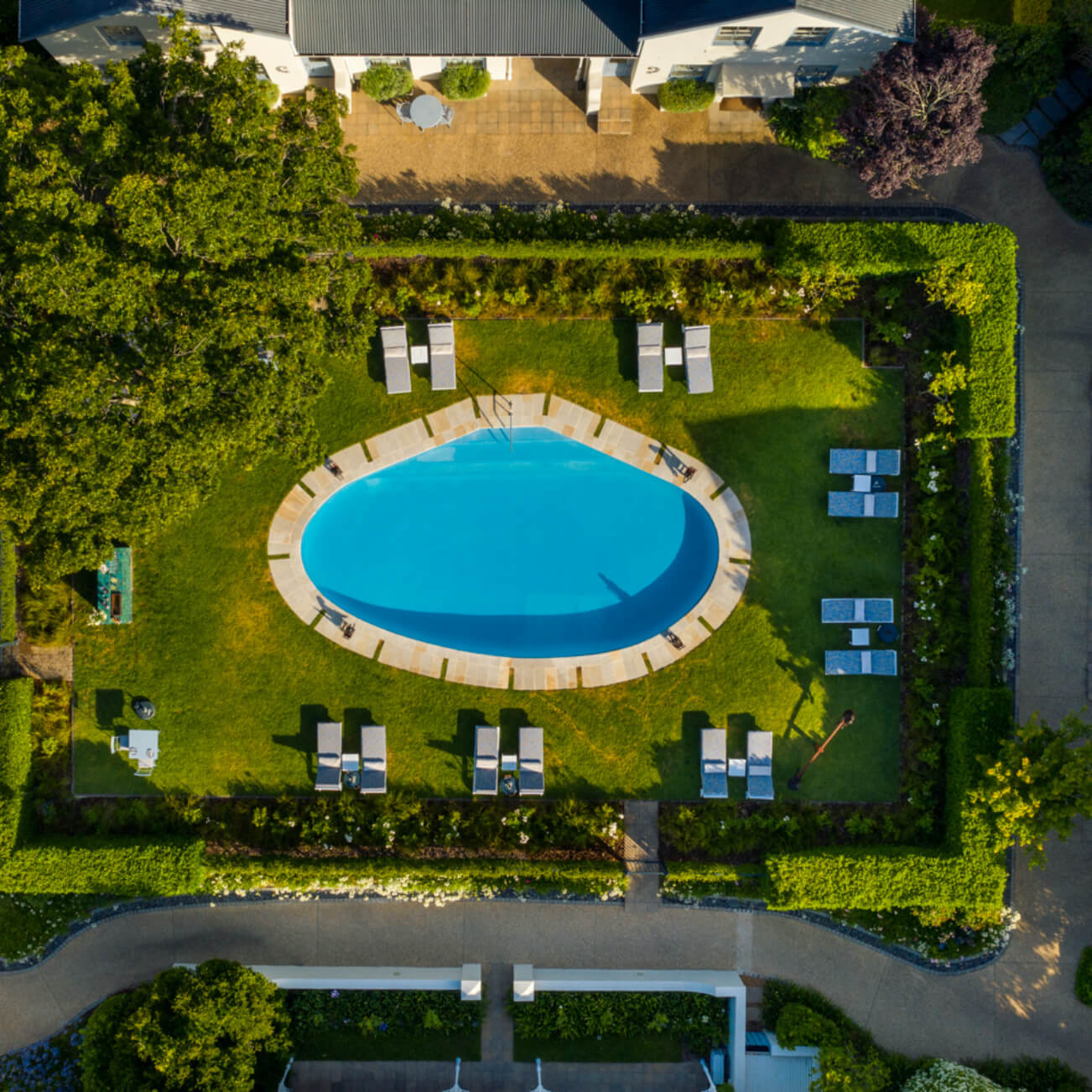Le Quartier Francais – Pool Area